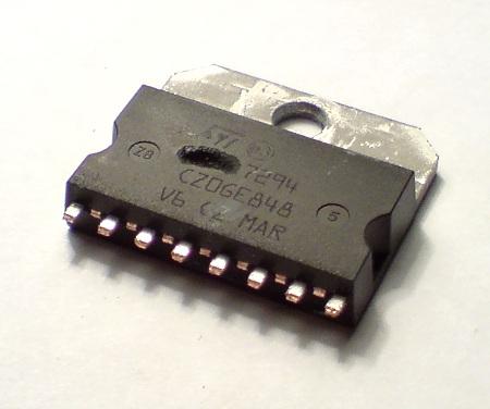 TDA 7294 explode