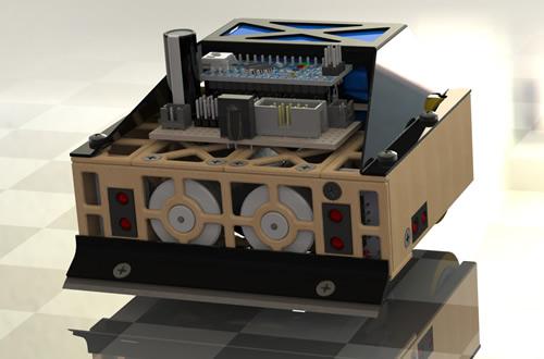 "ARDUINO Mini Sumo Robot ""Destroyer 3000"""